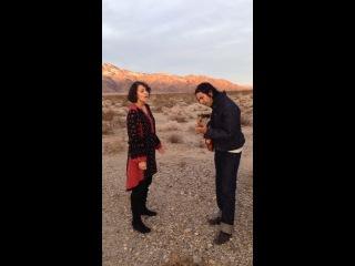 Gaby Moreno - Noche de Paz - Feat. David Garza Filmed @ Joshua Tree National Park